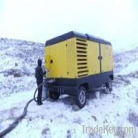 Atlas diesel portable screw air compressor Manufacturer