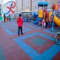 Rubber Flooring Tiles Playground Manufacturer
