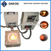 Small Induction Furnace Gold Iron Scrap Steel Aluminum Copper Melting Manufacturer