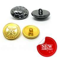 Metal Jean Jackets Clothing Buttons