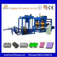 Automatically Interlocking concrete paver block making machine Manufacturer