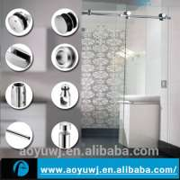 stainless steel glass sliding door roller