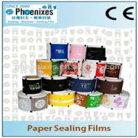Customized Paper Sealing Film Roll Plastic Bubble Tea Cups Manufacturer