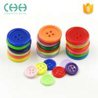Multi color 4holes shirt flatback button resin button child clothes Manufacturer