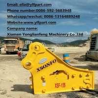 HB20G HB30G SB100 SB130 hydraulic breaker rock jack hammer of excavator Manufacturer