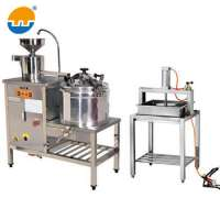 Small Scale Tofu Making Machine Soy Milk Tofu Production Line