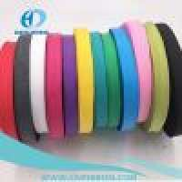 Non Woven Adhesive Tape and Colorful tubular 20mm 300D PP wrap Webbing tape Manufacturer
