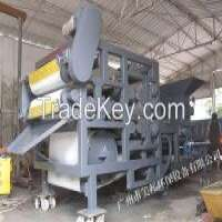 Belt Type Industrial Filter Press 3 Squeezing Rollers Manufacturer