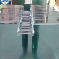 10mm 12mm clear tempered glass used office glass doors Manufacturer