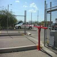 MANUAL LIFT BARRIER ALUMINUM GATE ARM