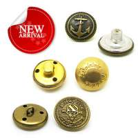 jean jacket metal buttons Manufacturer