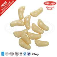 Jelly sweet feet gummy candy