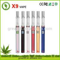 Greentime 300mah 05ml glass cbd oil electronic pipe quit smoking ceramic heating coil Manufacturer
