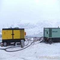Diesel portable air compressor drilling Manufacturer