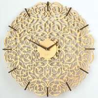Decorative analog wall clock