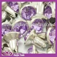 Silver Strass Rhinestone Crystal Rivet Manufacturer
