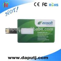 Full Color Printing Business Card data storage device Manufacturer