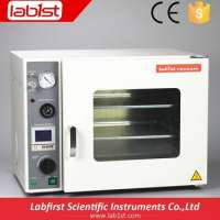 Vacuum Drying Oven 5 shelves and 4 sided Heating BHO extractioin Manufacturer