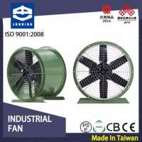 Jouning Axial Fan DA36 36inch chimney smoking room exhaust fan Manufacturer