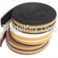 E profile EPDM white door&window sealing tapesealing stripe epdm sound proof rubber seal stripe Manufacturer