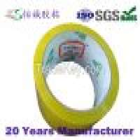 31mic pressure sensitive adhesive transparent yellow tape 55mm x 60M Manufacturer