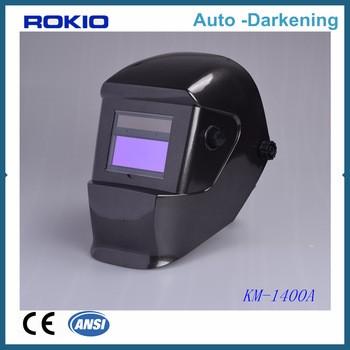 Solar cells welding mask automatic auto darkening welding helmet glass