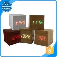 LED Digital Alarm Desk Table Clock