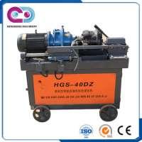 High Speed Automatic Rebar Thread Rolling Machine Manufacturer