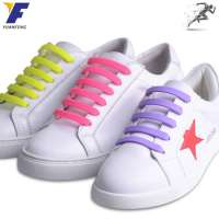gift sport no tie silicone shoe laces customized easy shoe laces Manufacturer