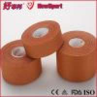 HowSport high tensile zinx oxide hand tearable viscoserayon rigid athletic adhesive strapping sports tape Manufacturer