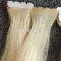 Hook & Loop Tapes and Full Cuticle Virgin Remy Seamless Skin Weft Tape Hair Extension Manufacturer