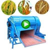 Corn Maize Wheat Soybean Paddy Peeling Pecan Milling Rice Sheller Shelling Threshing Thresher Machine  Manufacturer