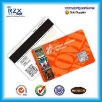 Glossy Plastic Membership Magnetic Card