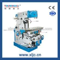 Horizontal Swivel Head Milling Machine