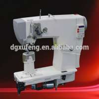 Double needle drive fully automatic thread trimming backstitch shoes sewing machine Manufacturer