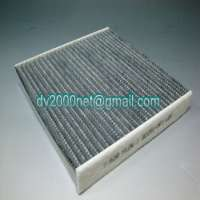 cabin filter air condition filter activated carbon honeycomb type