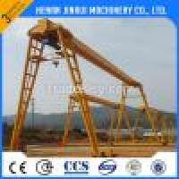 Electric Single Girder Gantry Crane Capacity 5500t Manufacturer