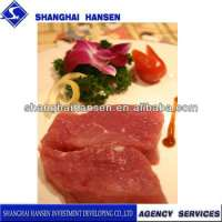 Buffalo meat and agency services customs declaration Manufacturer