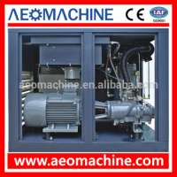 Industrial rotary screw air compressor