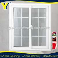 double glazing insulated aluminium window grill Manufacturer