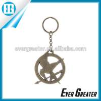 metal key chain car floating key chain Manufacturer