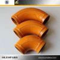 DN125 Concrete Pump Pipe Elbow Manufacturer