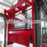 hollow gypsum block making machine