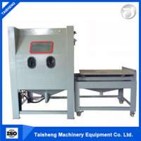 glass vertical sand blasting machine