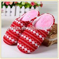 Knitted fabric ladies slippers Manufacturer