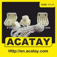 zebra blinds components 32 mm clutch plastic ball chain and plastic brackets eco system  Manufacturer