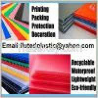 Pp corrugated plastic sheets pp corrugated board Manufacturer