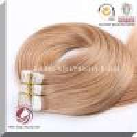 Cellophane Tape and Virgin Human Hair Tape Hair Extension Manufacturer