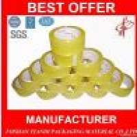 clear BOPP adhesive packing tape Manufacturer