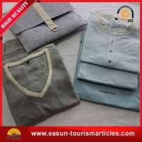 adult pajamas grey silk pajamas mens nightwear Manufacturer